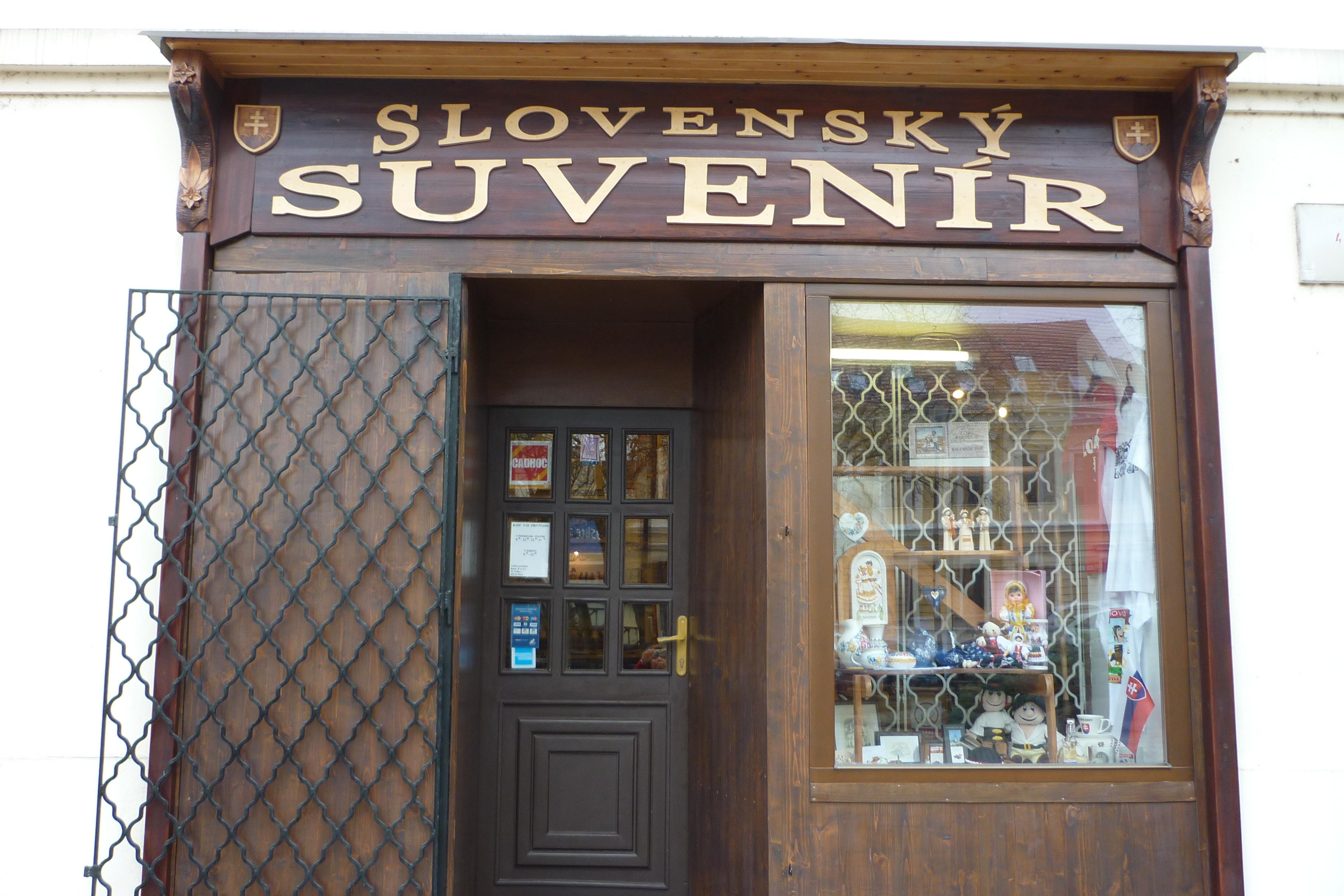 d6a1a6f530205 SLOVENSKÝ SUVENÍR Nitra - obchod s tradí - Katalóg firiem | moja Nitra