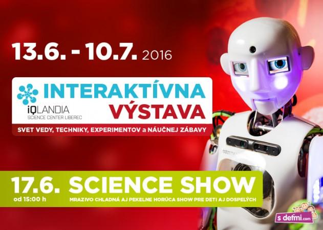 Navštívte interaktívnu výstavu IQLANDIA v M - Kam v meste  a997180872e