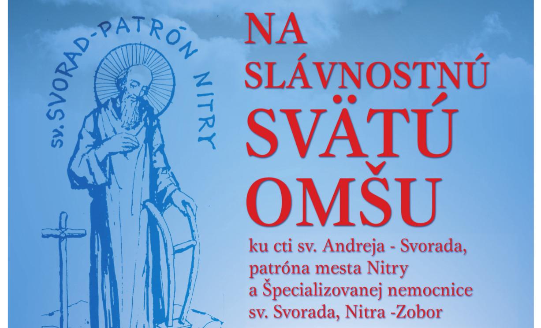 SV. SVORAD - PATRÓN NITRY - Katalóg firiem  d4d90a4dcbe