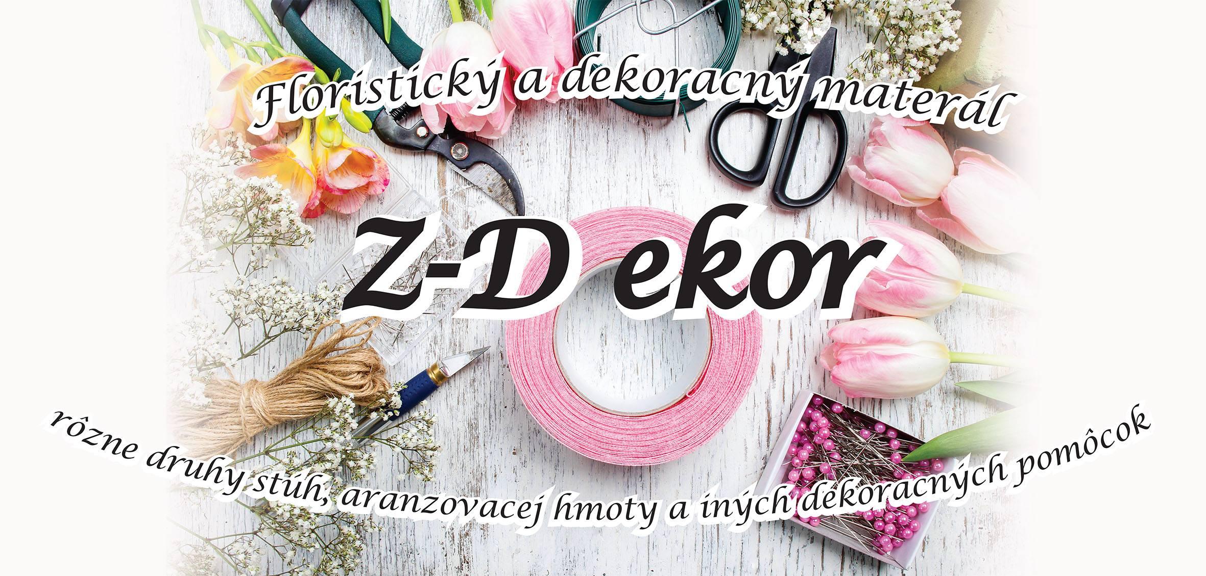 Z-Dekor Nitra - floristický materiál a k - Katalóg firiem  8d6449e06a7