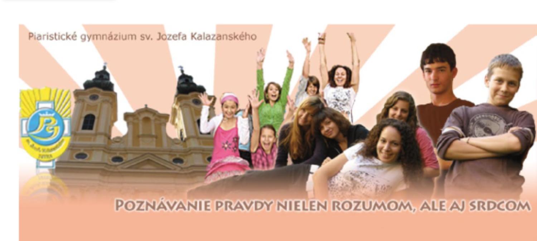 Piaristické gymnázium sv. Jozefa Kalazan - Katalóg firiem  e6509fef002